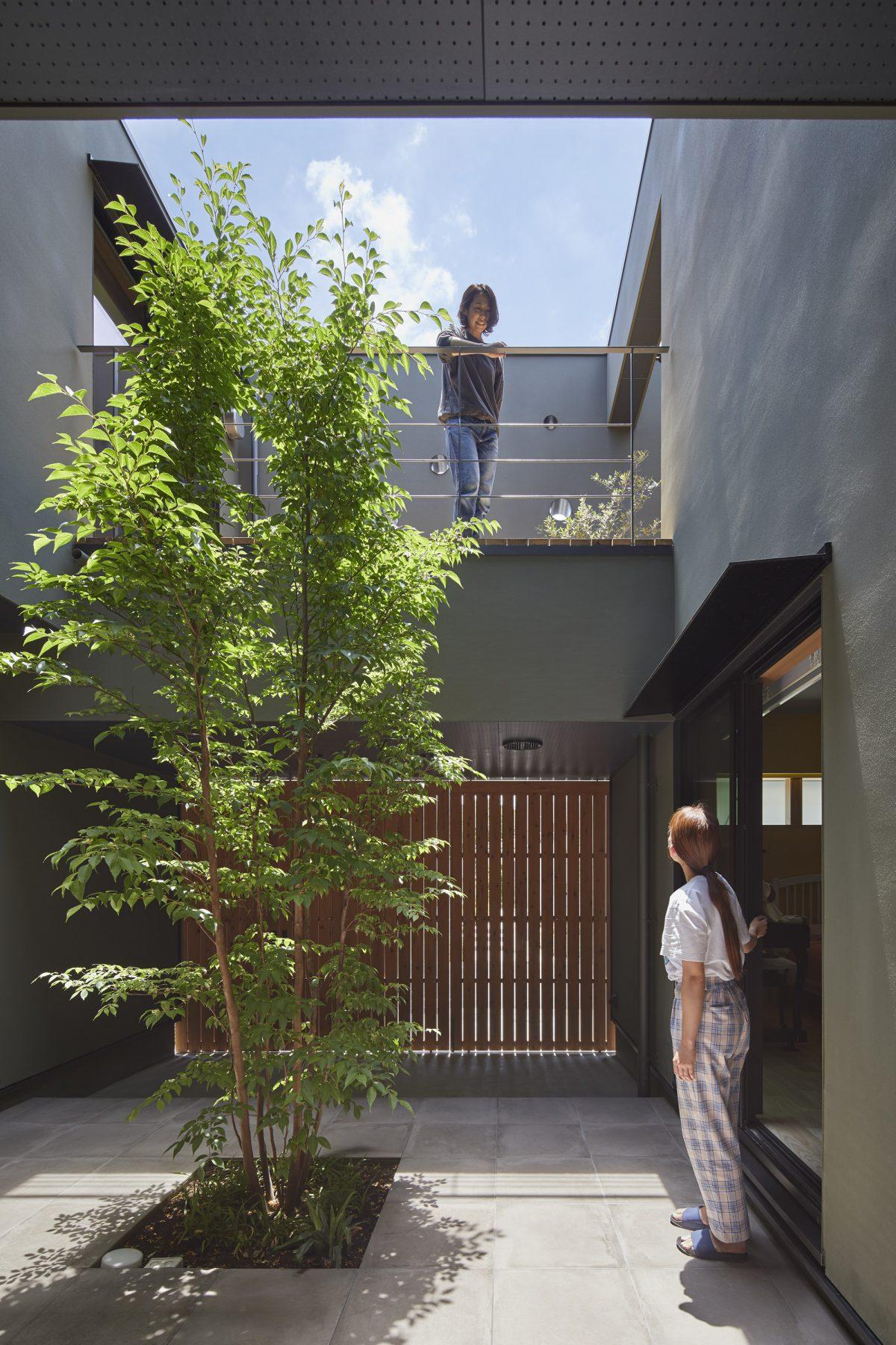 金柑の実る住まい(新検見川の家)のサムネイル
